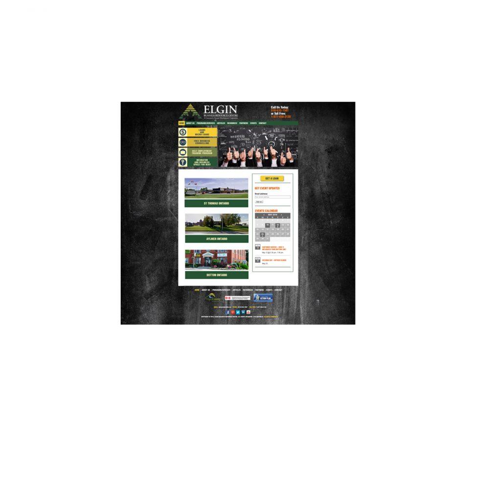 Blackcat Concepts Graphic Design Web Design - EBRC Website