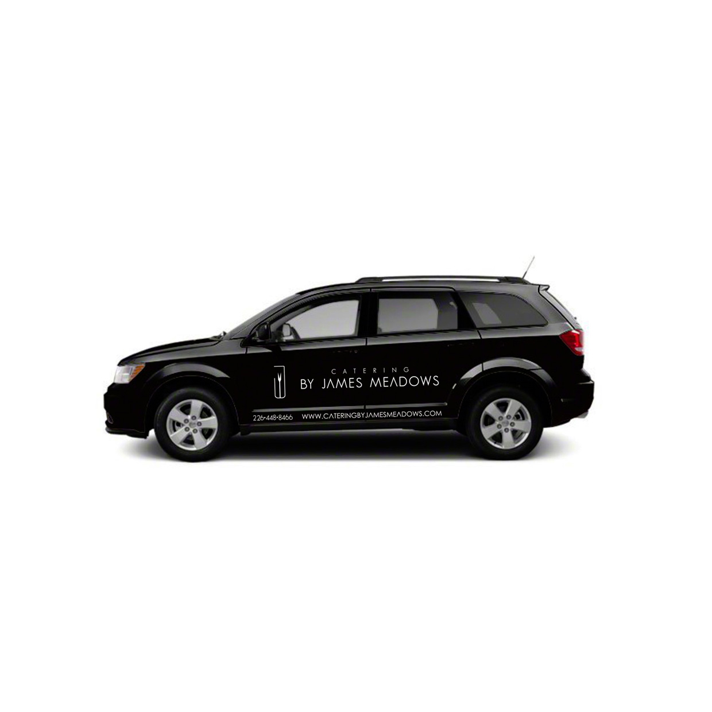 Car sticker design black - Blackcat Concepts Web Design Graphic Design Catering By James Meadows Car Decal